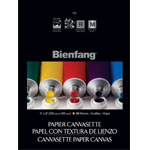 "Bienfang® 9 x 12 Paper Canvasette Pad; Format: Pad; Quantity: 10 Sheets; Size: 9"" x 12""; (model R270121), price per 10 Sheets pad"