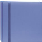 "Pioneer®  Snap Load® 12 x 12 Scrapbook Blue: Blue, Fabric, 10 Page Protectors, 12"" x 12"", (model DSL12-BL), price per each"