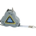 "Triangular Scale Tape Three-Sided Measure Engineer: Metallic, 24"", Tape Measure, (model CB02), price per each"