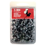 "Moore 5/8"" Push-Pins 100-Pack; Size: 5/8""; (model M5-100), price per box"