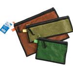 "Alvin® 3-Piece Everything Bag Set; Color: Multi; Material: Mesh; Size: 10"" x 13"", 4 3/4"" x 12 1/2"", 6"" x 8""; (model EB3), price per set"