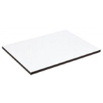 "Alvin® XB Series Drawing Board / Tabletop 16"" x 21""; Top Color: White/Ivory; Top Material: Melamine; Top Size: 16"" x 21""; (model XB112), price per each"