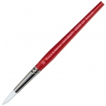 Winsor & Newton™ University Series 235 Round Long Handle Brush #12: Long Handle, Nylon, Round, Acrylic, Oil, Watercolor, (model WN5419012), price per each