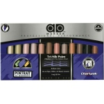 Chartpak® AD™ Marker 12-Color Portrait Set: Multi, Xylene-Based, Fine Nib, (model FLT12), price per set