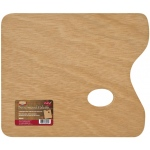 "Heritage Arts™ Beechwood Palette 11 x 15; Material: Beechwood; Shape: Rectangle; Size: 11"" x 15""; (model WRP1115), price per each"
