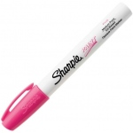 Sharpie® Oil Paint Marker Medium Pink; Color: Red/Pink; Ink Type: Paint; Tip Type: Medium Nib; (model SN35555), price per each