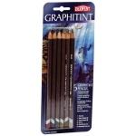 Derwent Graphitint Pencil 6-Color Set: Multi, Watercolor, (model 0700801), price per set