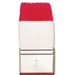 "Winsor & Newton™ University Series 231 Utility Short Handle Brush 2"": Short Handle, Nylon, Acrylic, Oil, Watercolor, (model WN5415150), price per each"