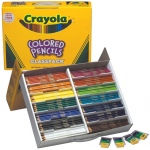 Crayola® Long Colored Pencil Class Pack 426 Piece: Multi, Pencil, (model BAS135), price per each