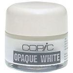 Copic® Opaque White Pigment; Color: White/Ivory; Format: Bottle; (model COPQW), price per each