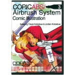 Copic® Airbrush System 3 Comic Illustrations DVD; Format: DVD; (model ABSDVD3), price per each