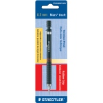 Staedtler® Mars Draft Technical Pencil .5mm: Black/Gray, .5mm, .7mm, Mechanical, (model 92505WBK), price per each