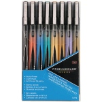 Prismacolor® Premier Fine Line Marker 8-Color Set; Color: Multi; Tip Size: .05mm; Tip Type: Fine Nib; (model SN14174), price per set