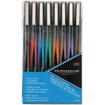Prismacolor® Premier Fine Line Marker 8-Color Set; Color: Multi; Tip Size: .005mm; Tip Type: Fine Nib; (model SN14175), price per set