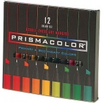 Prismacolor® Premier Art Marker 12-Color Primary/Secondary Set; Color: Multi; Double-Ended: Yes; Ink Type: Alcohol-Based, Dye-Based; Tip Type: Extra Broad Nib, Fine Nib; (model BP12N), price per set