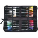 Prismacolor® Premier Art Marker 24-Color Set; Color: Multi; Double-Ended: Yes; Ink Type: Alcohol-Based, Dye-Based; Tip Type: Extra Broad Nib, Fine Nib; (model BP24C), price per set