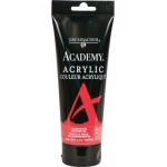 Grumbacher® Academy® Acrylic Paint 200ml Cadmium Red Medium Hue; Color: Red/Pink; Format: Tube; Size: 200 ml; Type: Acrylic; (model GBC029P200), price per tube
