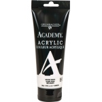 Grumbacher® Academy® Acrylic Paint 200ml Mixing White; Color: White/Ivory; Format: Tube; Size: 200 ml; Type: Acrylic; (model GBC248P200), price per tube