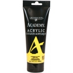 Grumbacher® Academy® Acrylic Paint 200ml Cadmium Yellow Light Hue; Color: Yellow; Format: Tube; Size: 200 ml; Type: Acrylic; (model GBC033P200), price per tube