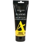Grumbacher® Academy® Acrylic Paint 200ml Cadmium Yellow Medium Hue; Color: Yellow; Format: Tube; Size: 200 ml; Type: Acrylic; (model GBC034P200), price per tube
