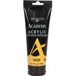 Grumbacher® Academy® Acrylic Paint 200ml Yellow Ochre; Color: Yellow; Format: Tube; Size: 200 ml; Type: Acrylic; (model GBC244P200), price per tube