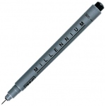 Zig Memory System Millennium Pen: 0.01 Tip, Individual, Black
