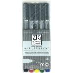 Zig Memory System Millennium Pen: 0.05 Tip, 5-Piece Set