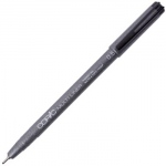 Copic® Multiliner (Disposable) Pen Black .5mm; Color: Black/Gray; Ink Type: Pigment; Tip Size: .5mm; Tip Type: Fine Nib; (model MLB05), price per each