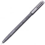 Copic® Multiliner (Disposable) Pen Gray .05mm; Color: Black/Gray; Ink Type: Pigment; Tip Size: .05mm; Tip Type: Fine Nib; (model MLG005), price per each