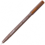 Copic® Multiliner (Disposable) Pen Sepia .1mm; Color: Brown; Ink Type: Pigment; Tip Size: .1mm; Tip Type: Fine Nib; (model MLS01), price per each
