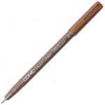 Copic® Multiliner (Disposable) Pen Sepia .5mm; Color: Brown; Ink Type: Pigment; Tip Size: .5mm; Tip Type: Fine Nib; (model MLS05), price per each