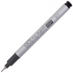 Copic® Multiliner SP (Refillable) Black Pen .7mm; Color: Black/Gray; Ink Type: Pigment; Refillable: Yes; Tip Size: .7mm; Tip Type: Fine Nib; (model MLSP07), price per each