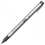 Copic® Multiliner SP (Refillable) Black Pen Brush; Color: Black/Gray; Ink Type: Pigment; Type: Brush Pen; (model MLSPB), price per each