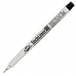 Alvin® TechLiner Technical Drawing Marker .3mm; Color: Black/Gray; Tip Size: .3mm; Tip Type: Fine Nib; Type: Technical; (model TL03), price per each