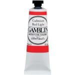 Gamblin Artists' Grade Oil Color 37ml Cadmium Red Light: Red/Pink, Tube, 37 ml, Oil, (model G1140), price per tube