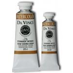 Da Vinci Artists' Watercolor Paint 15ml Raw Sienna Deep; Color: Brown; Format: Tube; Size: 15 ml; Type: Watercolor; (model DAV273-1F), price per tube