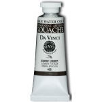 Da Vinci Artists' Gouache Opaque Watercolor 37ml Burnt Umber: Brown, Tube, 37 ml, Gouache, Watercolor, (model DAV406), price per tube