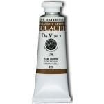 Da Vinci Artists' Gouache Opaque Watercolor 37ml Raw Sienna: Brown, Tube, 37 ml, Gouache, Watercolor, (model DAV473), price per tube