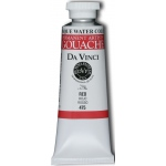Da Vinci Artists' Gouache Opaque Watercolor 37ml Red; Color: Red/Pink; Format: Tube; Size: 37 ml; Type: Gouache, Watercolor; (model DAV475), price per tube
