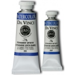 Da Vinci Artists' Watercolor Paint 15ml Ultramarine Green Shade: Blue, Tube, 15 ml, Watercolor, (model DAV283F), price per tube