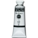 Da Vinci Artist's Gouache Opaque Watercolor: Black, 150ml Tube
