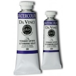 Da Vinci Artists' Watercolor Paint 37ml Ultramarine Viol : Purple, Tube, 37 ml, Watercolor, (model DAV285), price per tube