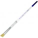 Royal & Langnickel® Soft Grip™ Brush Deerfoot 1/2: Gold Taklon, Deerfoot, 1/2, Acrylic, Oil, Watercolor, (model RSG650-1/2), price per each