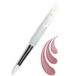 Royal & Langnickel® Soft Grip™ White Taklon Round Brush 6: White Taklon, Round, 6, Acrylic, Oil, Watercolor, (model RSG4000-6), price per each