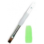 Royal & Langnickel® Soft Grip™ Sable Bright Brush 2; Material: Sable; Shape: Bright; Size: 2; Type: Acrylic, Oil, Watercolor; (model RSG1150-2), price per each
