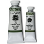 Da Vinci Artists' Watercolor Paint 37ml Olive Green; Color: Green; Format: Tube; Size: 37 ml; Type: Watercolor; (model DAV260-2), price per tube