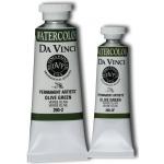 Da Vinci Artists' Watercolor Paint 37ml Olive Green: Green, Tube, 37 ml, Watercolor, (model DAV260-2), price per tube