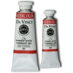 Da Vinci Artists' Watercolor Paint 37ml Permanent Red; Color: Red/Pink; Format: Tube; Size: 37 ml; Type: Watercolor; (model DAV265), price per tube