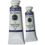 Da Vinci Artists' Watercolor Paint 37ml Phthalo Blue: Blue, Tube, 37 ml, Watercolor, (model DAV267), price per tube