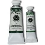 Da Vinci Artist's Watercolor Paint: Chromium Oxide Green, 37ml Tube